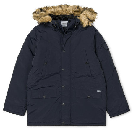 CARHARTT Kurtka Anchorage Parka Dark Navy/Black - FW17