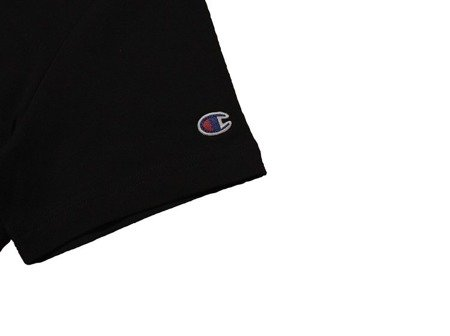 Champion Koszulka Reverse Weave Big Logo T-Shirt Black