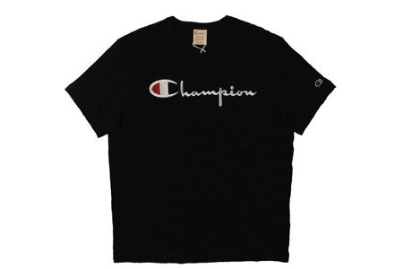 Champion Koszulka Reverse Weave Big Logo T-Shirt Black - SS20