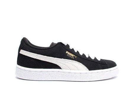 PUMA Buty Suede Jr Black/White