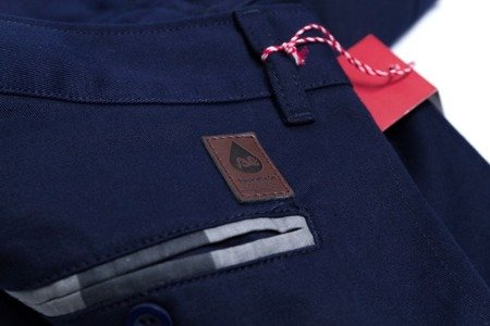 TURBOKOLOR Spodnie Chinos Super Slim-Fit - Navy - FW14