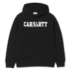 Carhartt Bluza Hooded College Sweatshirt Black/White - SS18